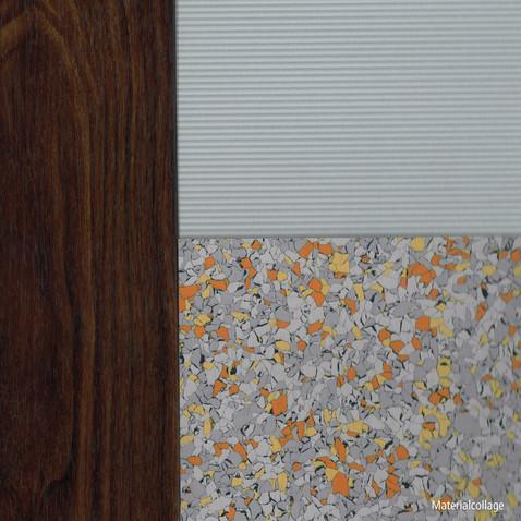 Materialcollage
