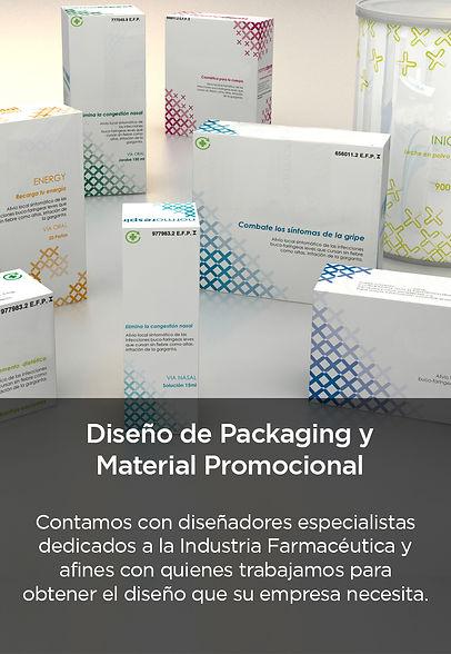 Diseño de packaging médicos - negro sin
