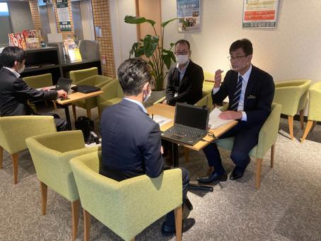 松江市内のテレワークスペースのセキュリティ診断を実施しました