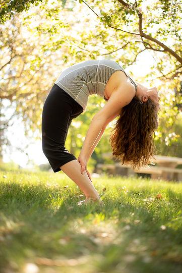 Yoga Pose - Krista Daneluz Vieira