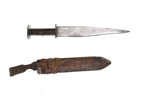 Rustic/Primitive Double Edged Rondel-Style Dagger
