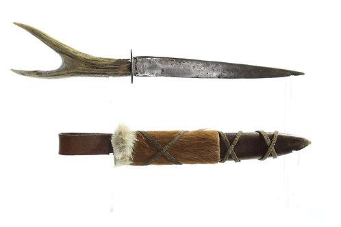 Rustic/Primitive Single Edged Dagger