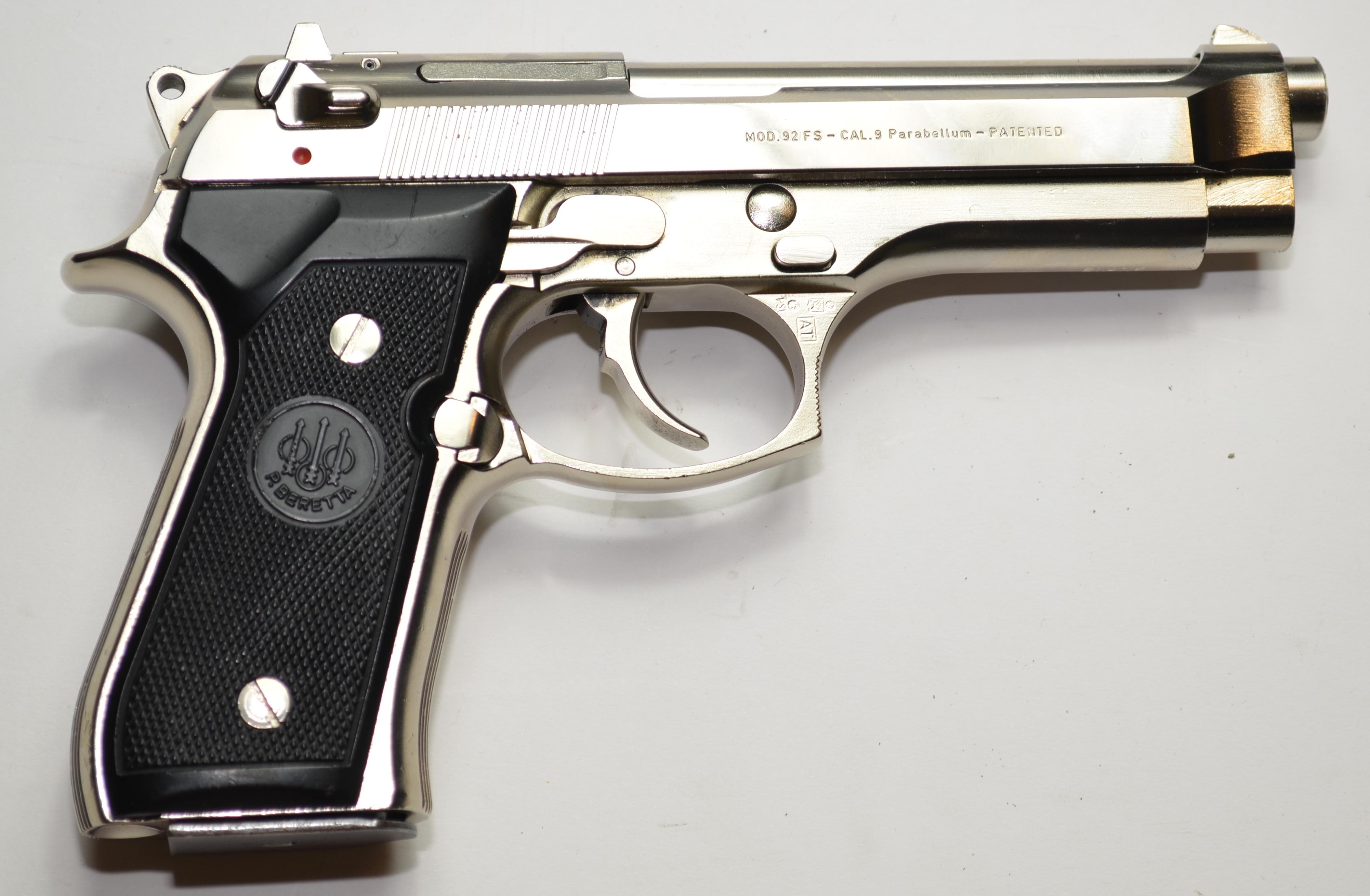 Beretta 92 chrome