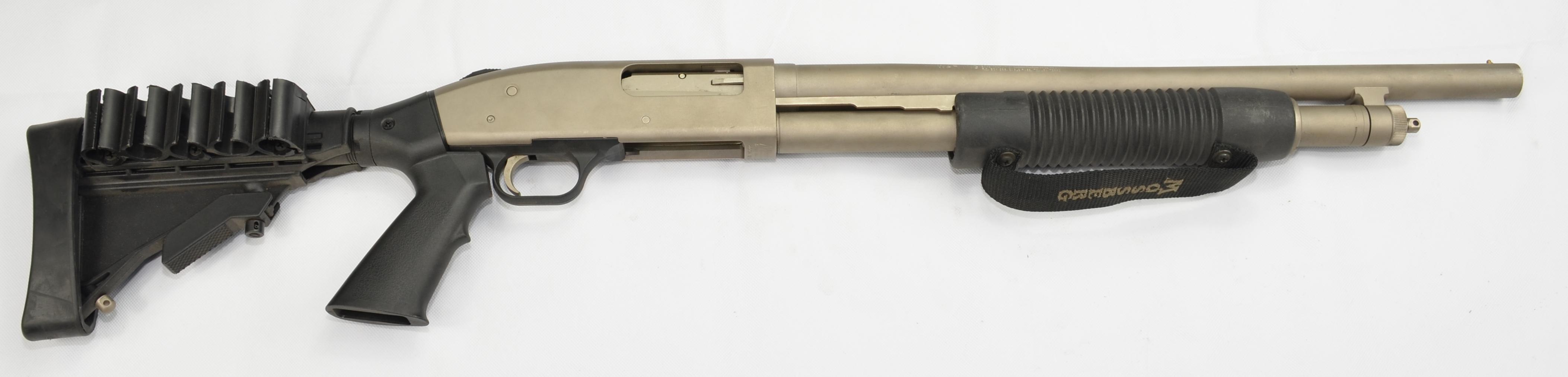 Mossberg 500 chrome