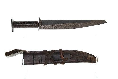 Rustic/primitive Seax Single Edged Dagger/Knife