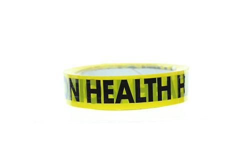 Health Hazard Tape