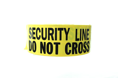 Security Line Do Not Cross Tape