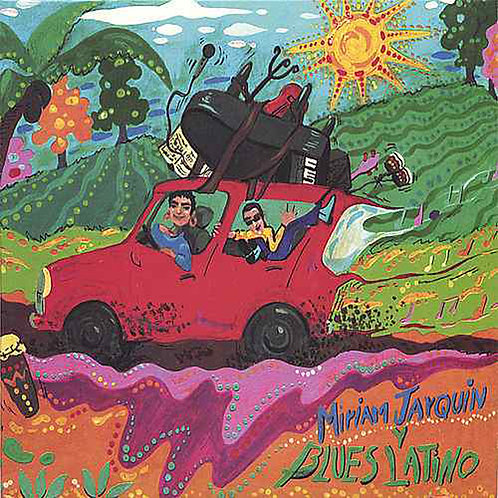 MIRIAN JARQUIN & BLUES LATINO - Mirian Jarquin y Blues Latino (CD)