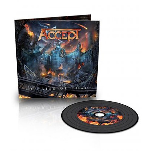 ACCEPT - THE RISE OF CHAOS - (CD DIGI)