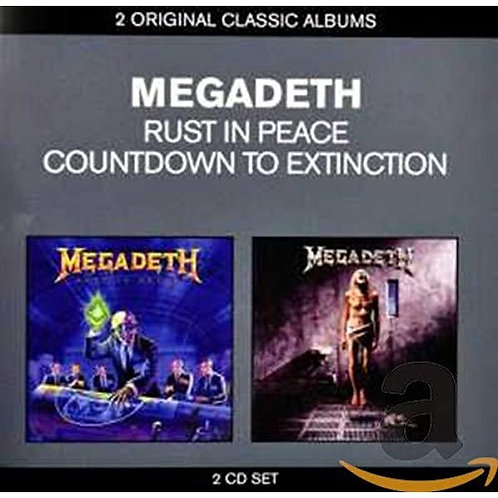 MEGADETH - CLASSIC ALBUMS: COUNTDOWN - RUST IN PEACE (CD)