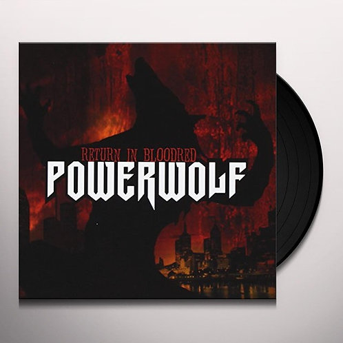 POWERWOLF -  RETURN IN BLOODRED (Vinyl)