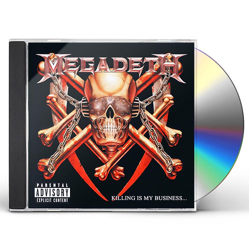 MEGADETH - KILLING IS MY BUSINESS (CD)