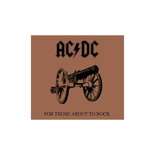 AC/DC - For Those About To Rock We Salute - (CD)