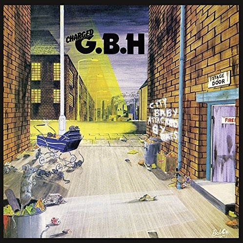 G.B.H. - City Baby Attacked By Rats (CD)