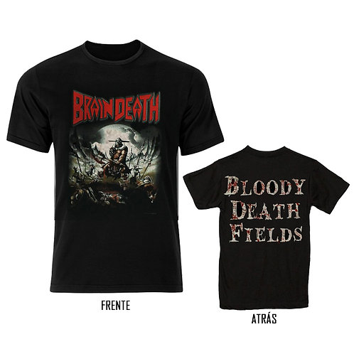 BRAIN DEATH - World Sickness Devastation (Camiseta)