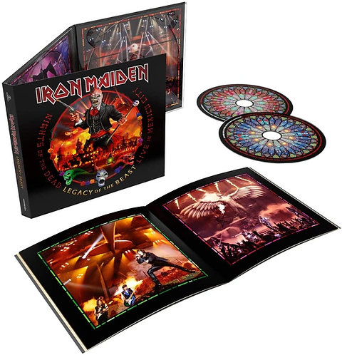 IRON MAIDEN - NIGHTS OF THE DEAD (LIVE IN MEXICO) (CD)
