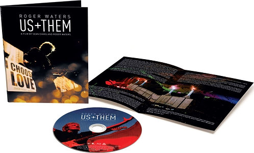 ROGER WATERS - US + THEM - (Blu-Ray)