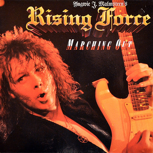 """YNGWIE J. MALMSTEEN""""S - Marching Out (CD)"""
