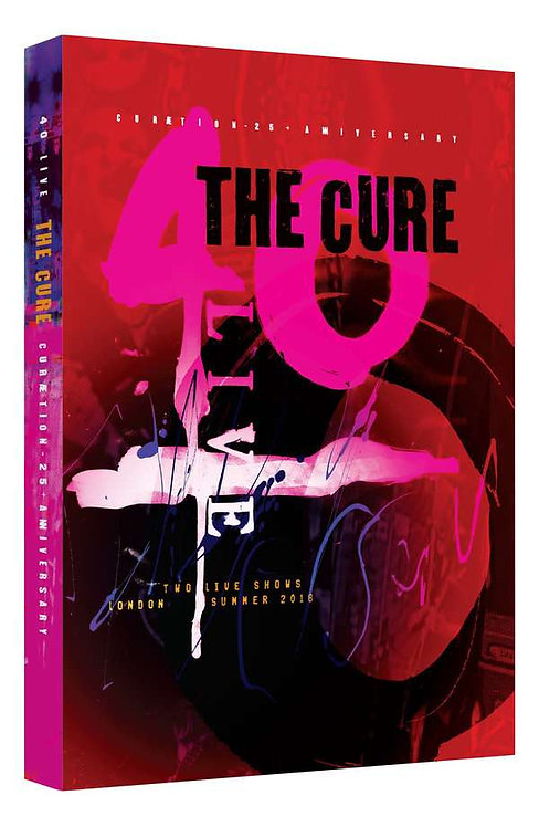 CURE, THE - 40 LIVE CURAETION - 25 + ANNIVERSARY (DVD)