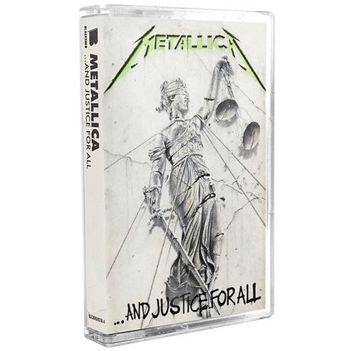 METALLICA - Justice for all (Cassette)