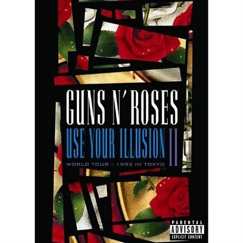 GUNS N ROSES - Use Your Illusion II (DVD)