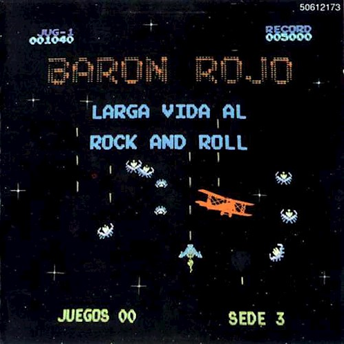 BARON ROJO - Larga Vida al Rock and Roll (CD)