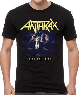 ANTHRAX - AMONG THE LIVING MENS T-SHIRT (Camiseta)