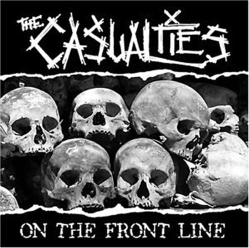 CASUALTIES - ON THE FRONT LINE (CD)