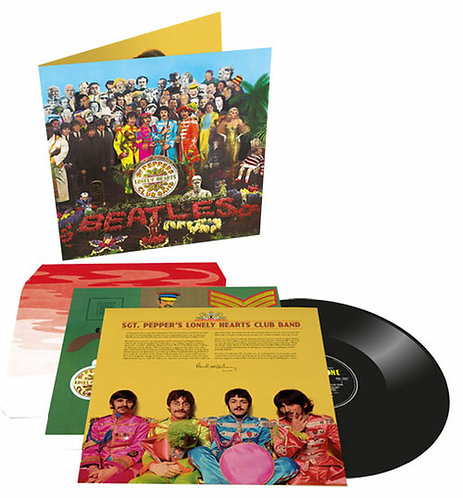 BEATLES, THE - SGT. PEPPERS LONELY HEARTS (LP)