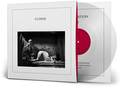 JOY DIVISION - Closer - 40TH ANNIV LIMITED (Crystal Clear Vinyl)