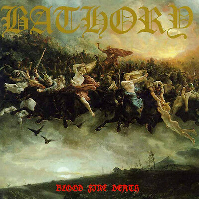 CD BATHORY - Blood Fire Death - (CD)