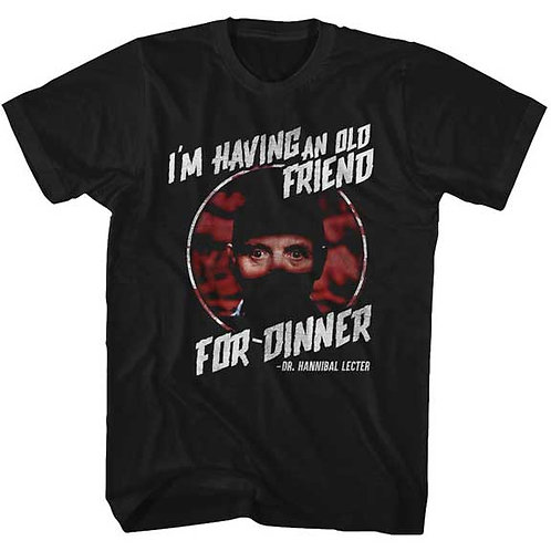 SILENCE OF THE LAMBS - FRIEND FOR DINNER (Camiseta)