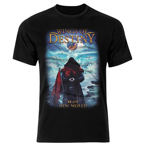 WINGS OF DESTINY - Brave New World (Camiseta)