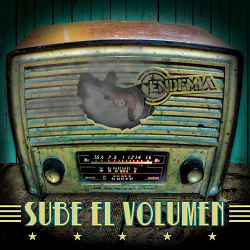 ENDEMIA - Sube El Volumen (CD)