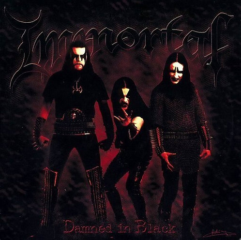 IMMORTAL - Damned in Black - (CD)