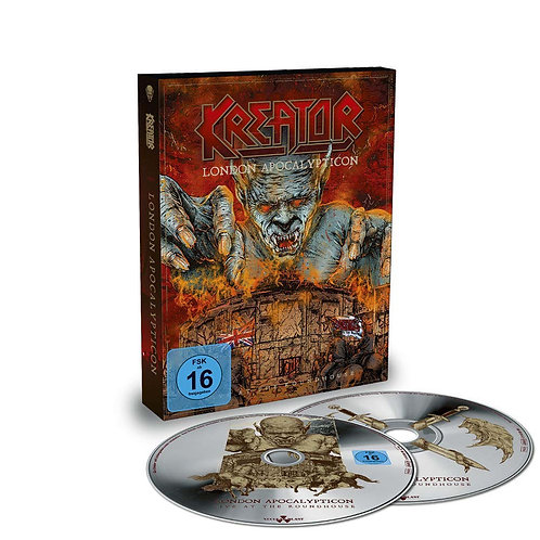 KREATOR - London Apocalypticon (CD+BLURAY)