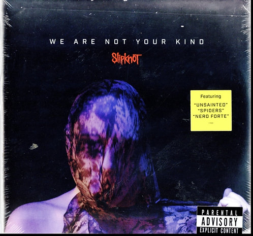 SLIPKNOT - WE ARE NOT YOUR KIND (DL CARD) (Vinyl)