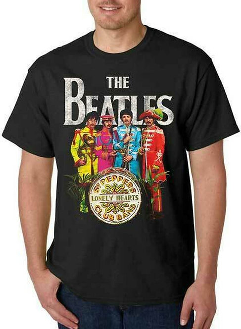 BEATLES, THE - SGT PEPPER MENS T-SHIRT (Camiseta)