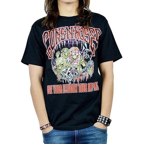 GUNS N ROSES - Use Your Illusion Tour (Camiseta)
