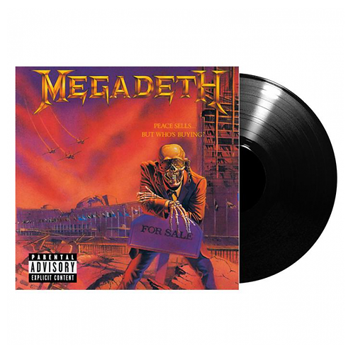MEGADETH - Peace Sells... But Who's Buying (Vinyl)