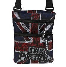 SEX PISTOLS BAG - UK FLAG (Bolso)