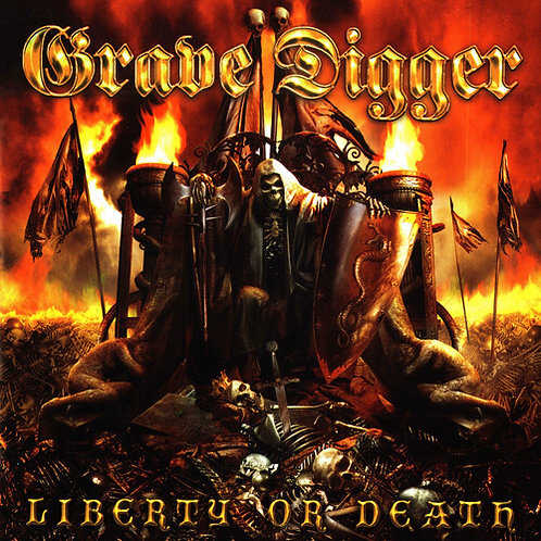 GRAVE DIGGER - Liberty or Death  (CD)