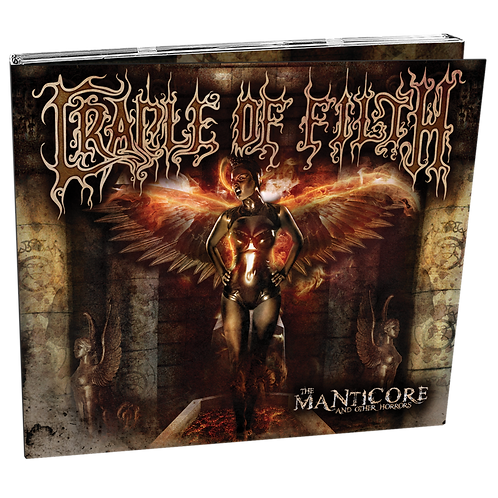 CRADLE OF FILTH - The Manticore And Other Horror - (CD)