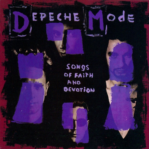 DEPECHE MODE - SONGS OF FAITH AND DEVOTION (CD)