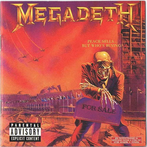MEGADETH - Peace Sells... But Whos Buying (CD)
