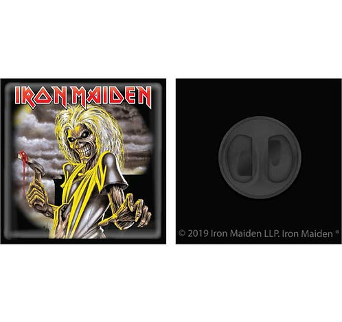 IRON MAIDEN - MATTE BLACK ZINC ( PIN )