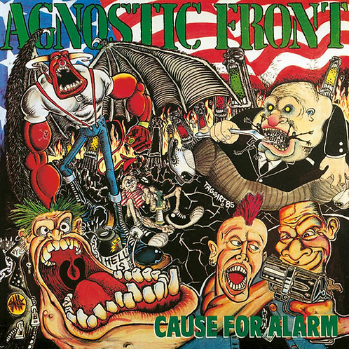 AGNOSTIC FRONT - Cause For Alarm (CD)