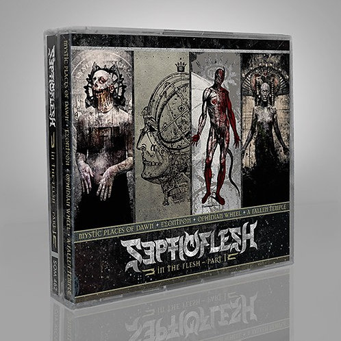 SEPTICFLESH - In The Flesh Part I Mystic Places - (Box: 4CD)