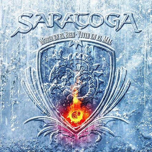 SARATOGA - Morir En El Bien-Vivir En El Mal (CD)