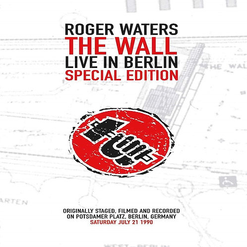 ROGER WATERS - THE WALL LIVE IN BERLIN SPECIAL EDIT (DVD)